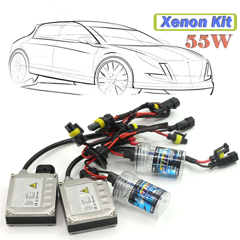55W H1 Xenon Ballast  Bulb HID KIT DC 12V Car Daytime Running Fog Light Headlight 4300K 5000K 6000K 8000K 10000K 12000K 15000K original xk k124 bnf without tranmitter ec145 6ch brushless motor 3d 6g system rc helicopter compatible with futaba s fhss