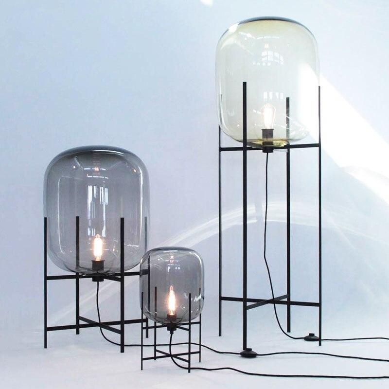 Lampadaires de simplicité nordique Post-moderne lampes de LED vloerlamp lampe sur pied lampe de salon chambre Restaurant