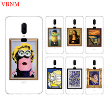 Minions Artwork New Phone Back Case For OnePlus 7 Pro 6 6T 5 5T 3 3T 7Pro 1+7 Art Gift Patterned Customized Cases Cover Coque