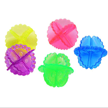 4pcs EcoFriendly Reusable Dryer Ball Replace Laundry Washer Fabric Softener Wrinkle Releasing In Balls