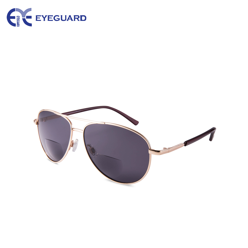 EYEGUARD Unisex Classic Style Bifocal Sunglasses Readers with Lens UV400 Protection Outdoor Reading Glasses for Men