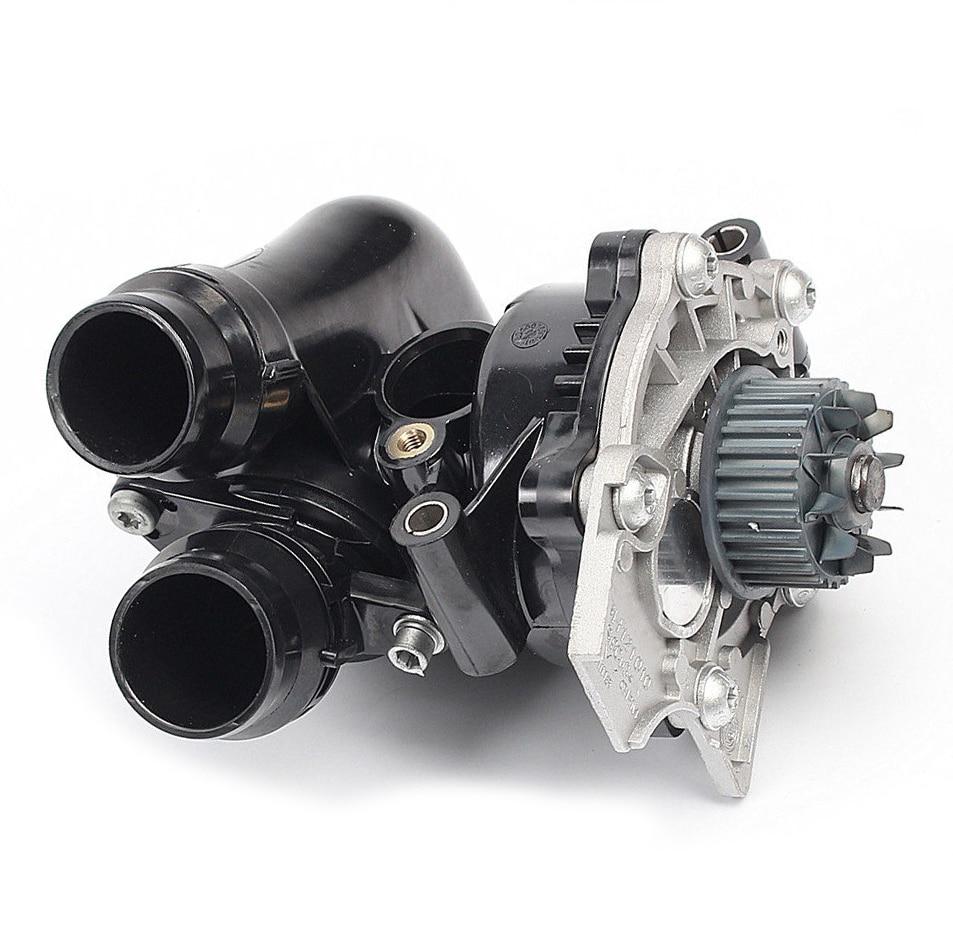 Engine Water Pump Body For VW Passat Jetta GLI Golf GTI MK6 EOS Tiguan AUDI 2.0T 06H 121 026 CF/CQ/BA/AF/DB/AB 06H121026 B/J/N new ea888 engine water pump assembly 06h 121 026 cq for vw passat golf gti tiguan jetta 1 8t 2 0t audi a3 a4 a5 q5 tt 1 8t 2 0t