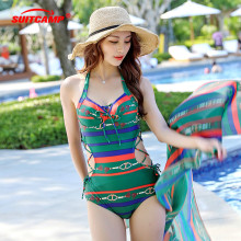 One Piece Sexy Swimsuit Women Summer Beachwear Lace One Shoulder Swimwear Bathing Suits Bodysuit Monokini Swimsuit цена