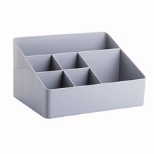 Plastic Desk Sets Desktop Storage Box For Small Objects Organizer Finishing Boxes Muti Use Home School Office Set Supplies