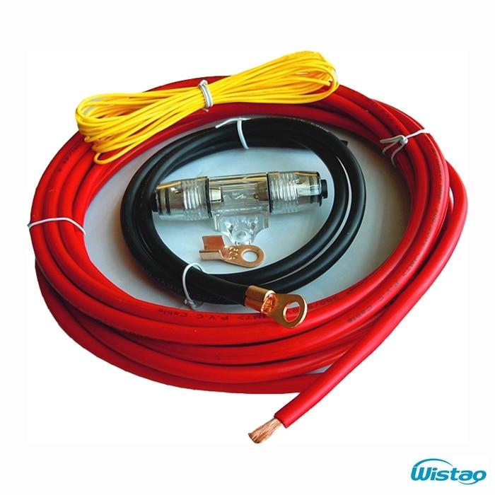 Cobre Reproductores De Audio Para El Coche Diy Cable De