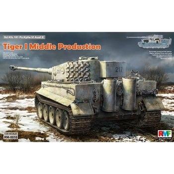 RFM modelo de campo de centeno, RM-5010 1/35 Tiger I, producción media, Kit de modelo a escala Interior completo