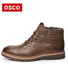 OSCO Warn fur Lining Winter Men Warm boots Warmest Casusl style Men Winter boots #MB998501P