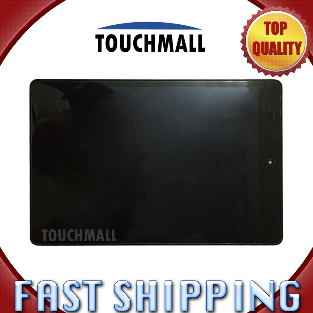For Xiaomi Mipad Mi Pad 1 Replacement Digitizer LCD Display Touch Screen Glass with Frame Assembly 7.9-inch Black For Tablet original lcd display touch screen digitizer assembly with frame for alcatel one touch idol mini 6012 6012a replacement