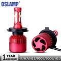 Oslamp H4/H7/H11/H13/9005/9006 80W LED Car Headlight Bulb Hi lo Beam SMD CREE Chips 9600LM 6500K Auto Headlamp Fog Light 12v 24v