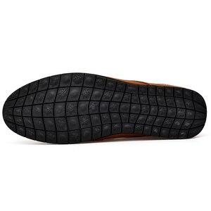 Image 4 - OZERSK אופנה גברים אמיתי עור נעלי זכר שמלת חתונה קלאסי עסקי המפלגה משרד חתונה ופרס גברים של דירות נעליים