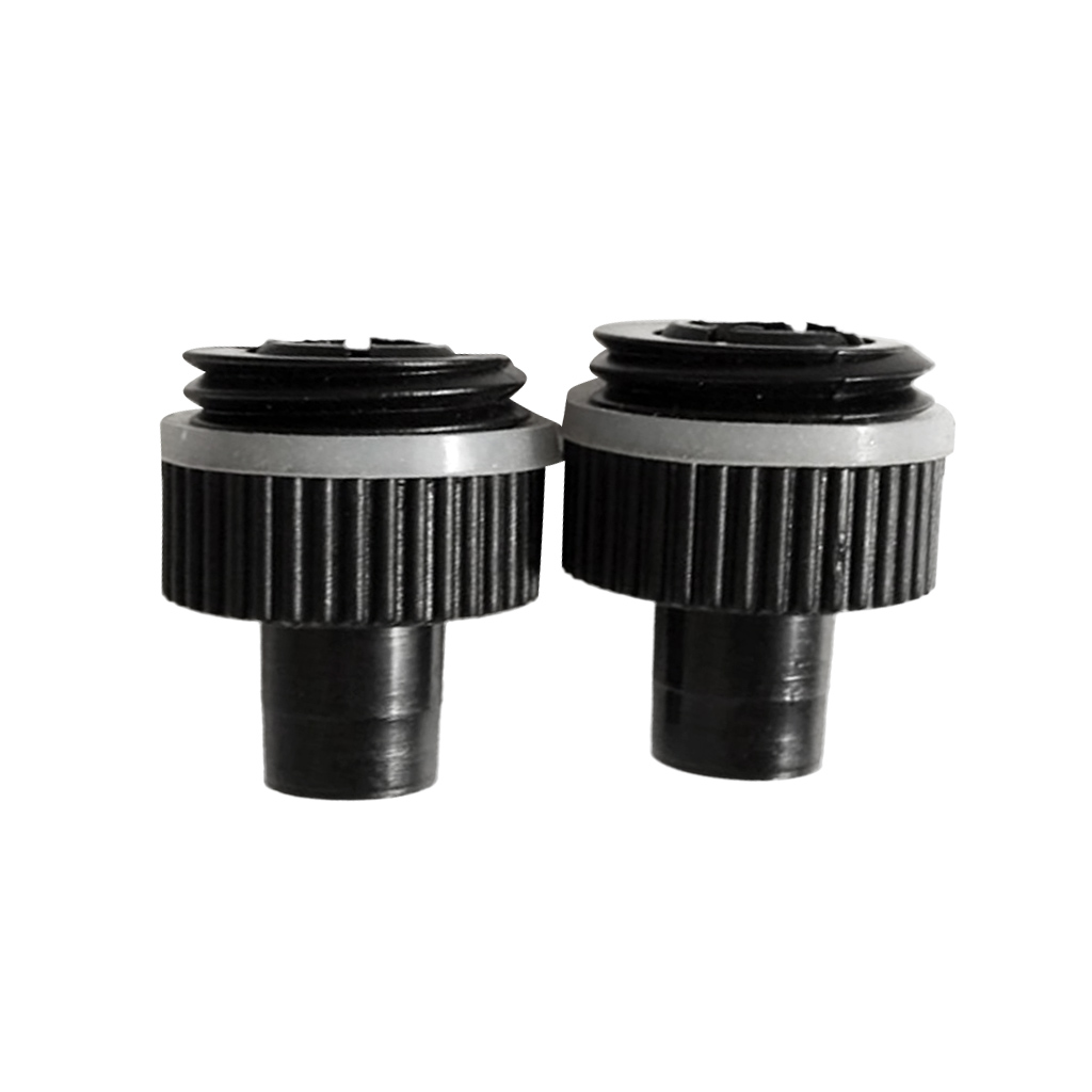 2 Nylon Air Pump Valve Adapter Connector for Inflatable Boat SUP Rubber Boat