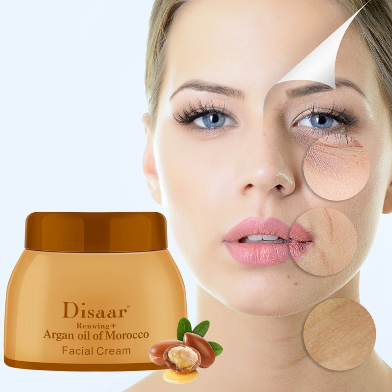 50g Argan Oil  Cream Repair Lighten Blemish Face Cream Serum Skin Care Anti-aging Face Lifting Firming Smooth Cream The Ordinary