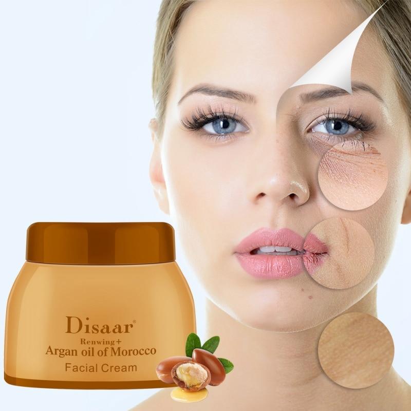 50g Argan Oil  Cream Repair Lighten Blemish Face Cream Serum Skin Care Anti-aging Face Lifting Firming Smooth Cream The Ordinary