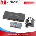 LINK-MI LM-SW301-Audio PIP de 3 Puertos HDMI Audio Extractor, 3x1 HDMI Switch Soporte PIP, ARCO, súper EDID Con SPDIF/L/R de Audio