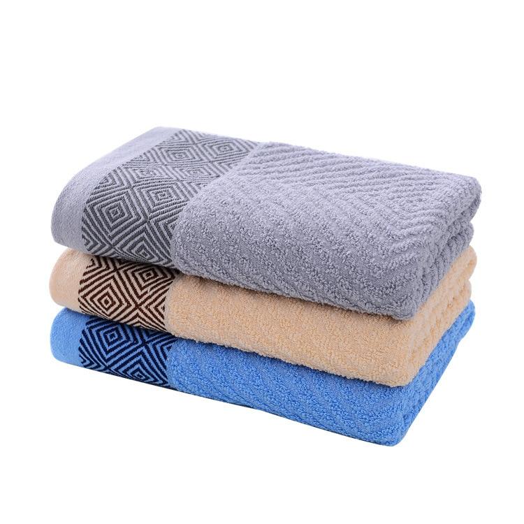 Hot sale 140x70cm Bath Towels 100 Cotton face towel Cotton Fiber Natural Eco friendly Embroidered Bath