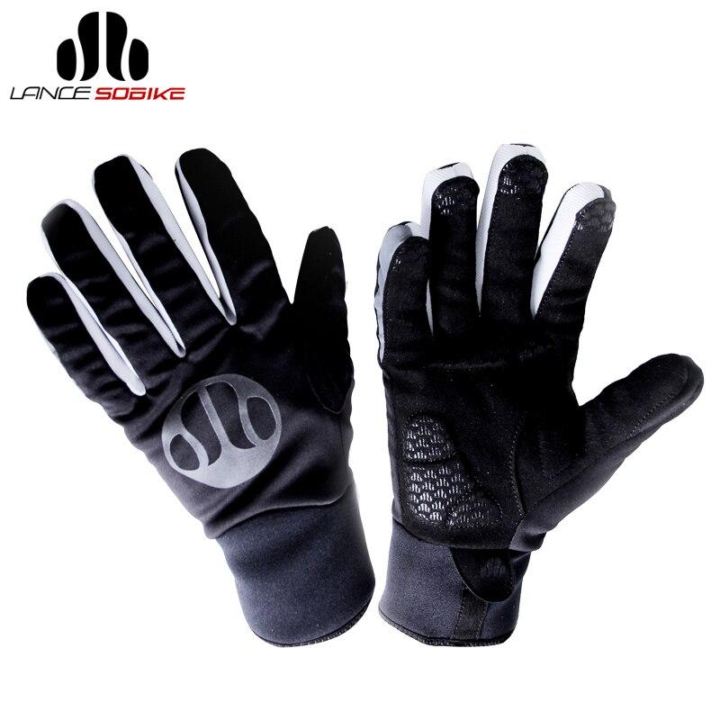 SOBIKE Ski gant thermique Snowboard GEL coussinets gants antidérapants hiver coupe-vent vélo course cyclisme complet doigt chaud hommes gants
