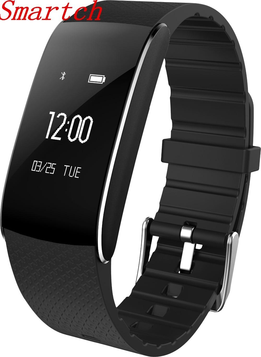 Smartch A86 Smart Bracelet heart rate monitor cardiaco watch Blood Pressure Blood Oxygen Smart wristband IP67