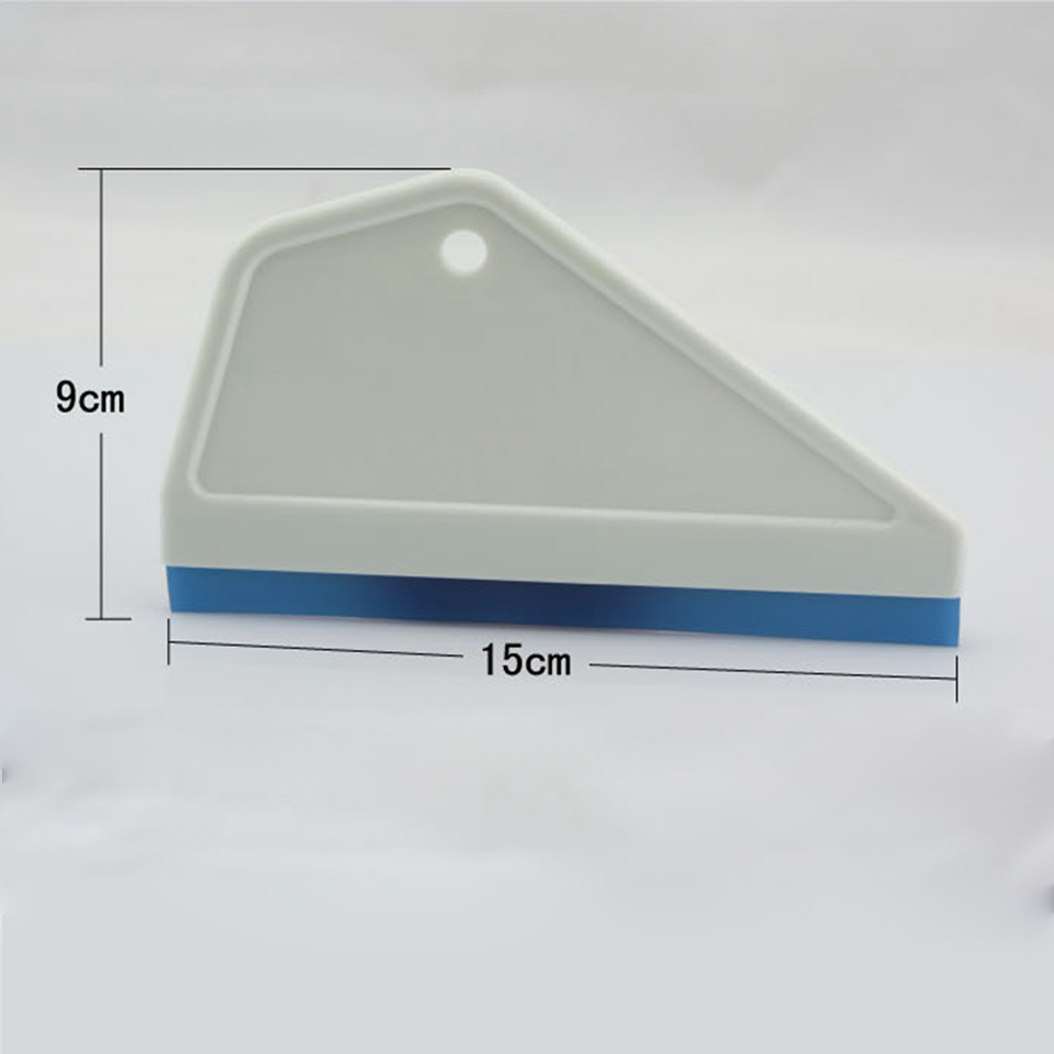 Image 3 - 9*15cm Side Swipe Squeegee w/ Rubber Blade,Car Windows Tinting & Wrapping Install Tool MO 100-in Car Stickers from Automobiles & Motorcycles