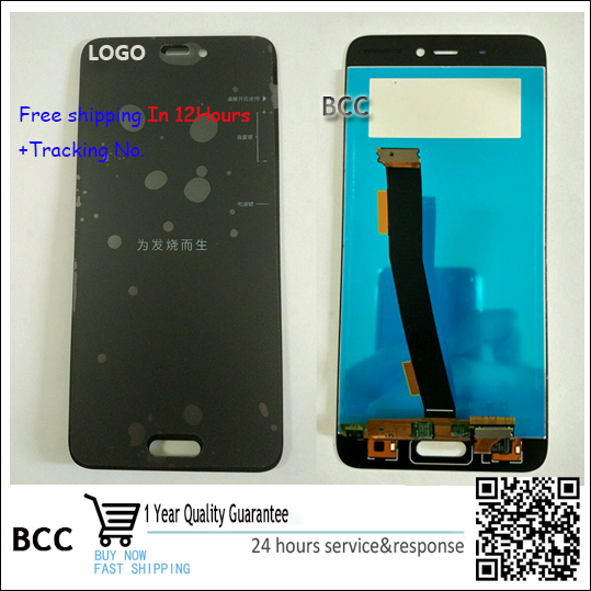 High quality New For Xiaomi Mi 5 M5 Mi5 LCD Display ouch Screen Digitizer White Gold