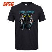 SPEG T Shirts Darth Vader S Empire Star Wars Printing Custom Made Men 100 Cotton Short