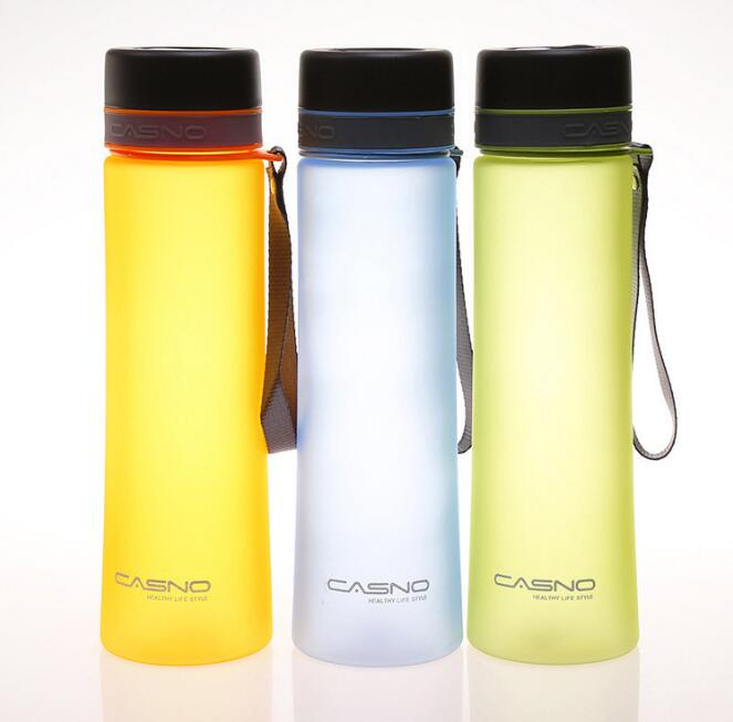 High Quality 1000ml Protable Scrub Water Bottles With Rope Sports Travel Plastic Space My Shaker Bottle Eco-Friendly