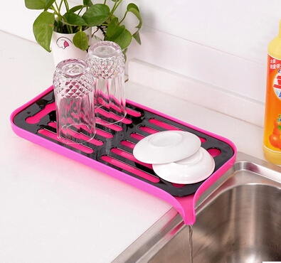kitchen draining board drapes new fashion bandeja decorativa multi function storage to fruit dry food tray dish rack cooking tools