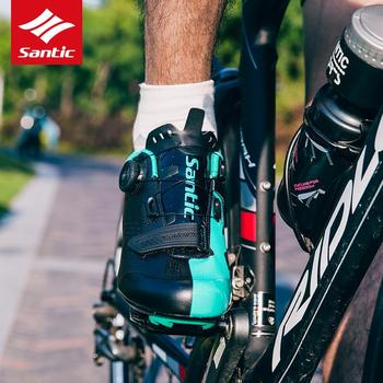 Santic 2019 New Arrival Road Cycling Shoes Outdoor Professional Road Bicycle Shoes Women Road Outsole Bike Shoes