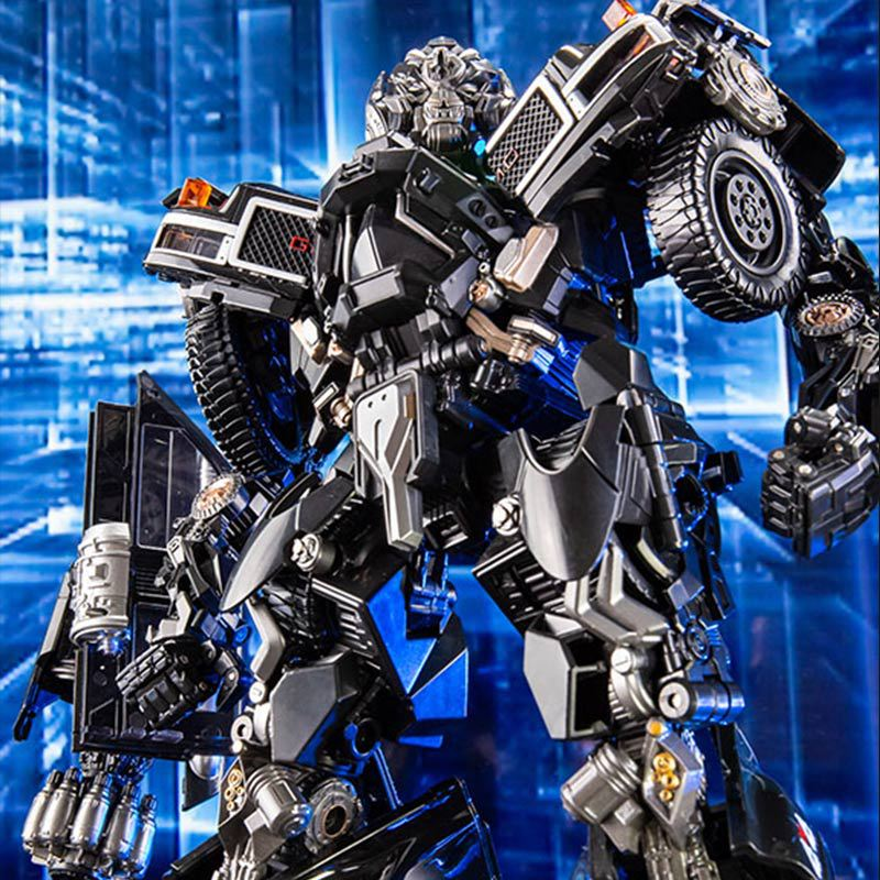 Black Mamba BMB LS-09 LS09  Weapon Ironhide Transformation Action Figure Alloy Metal Movie Film Action Figure KO Toys
