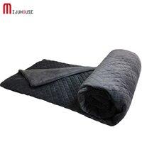 100% Crystal Velvet Duvet Cover Blankets for Weighted Blanket Winter Blanket Bedspread Plaid Fluffy Children Quilt Blanket Throw