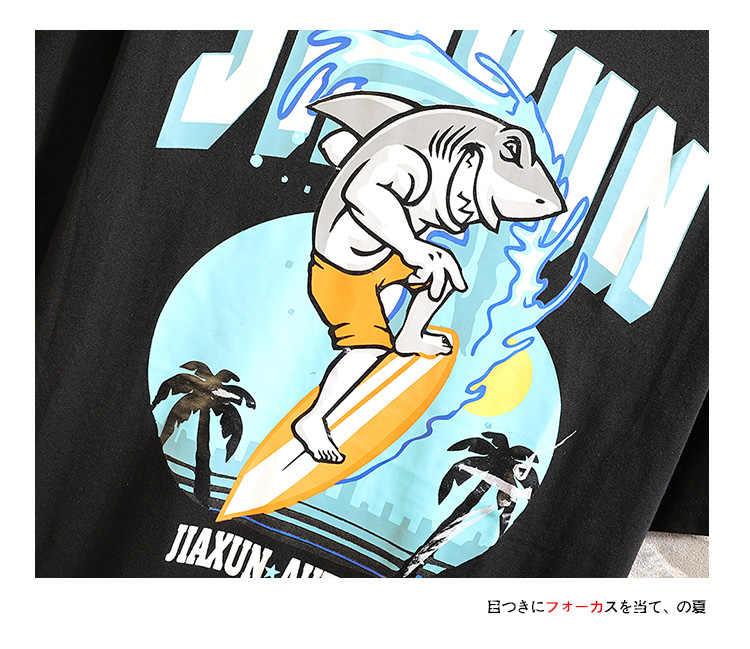 BQODQO 2019 T-shirt Voor Mannen O-hals T-shirt Katoen Korte Mouw Zomer Game Tee Streetwear Casual Trendy T-shirts Comfortabele Losse