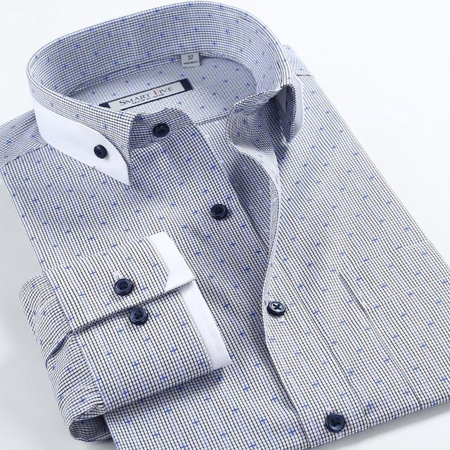 Clothin Boucle importés 100 Coton D'impression de Marque Hommes Dot RURWnqZE