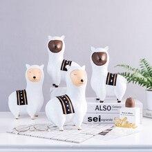 Милая креативная детская игрушка альпака, гостиная, спальня, детская комната, свадебное украшение, домашний декор