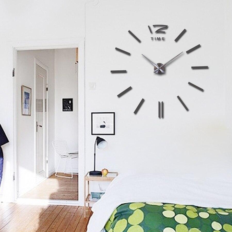 hot sale wall clock large decorative wall clocks home decor diy ...