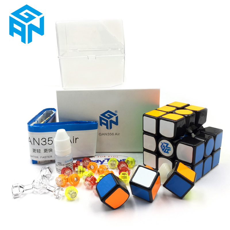 GAN356 Air Magic Cube Master Record Speed Cube Professional Competition 356 Air Puzzle Cube Classic GAN Cubo De Rabie Cube цена
