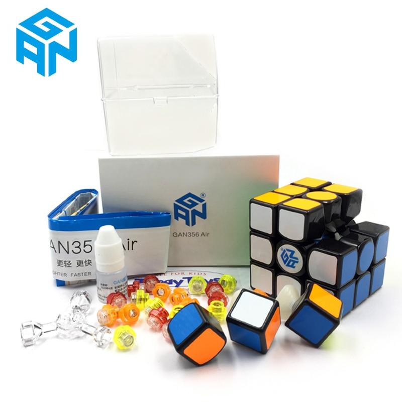 GAN356 Air Magic Cube Master Record Speed Cube Professional Competition 356 Air Puzzle Cube Classic GAN Cubo De Rabie Cube