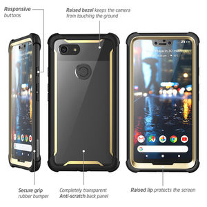 Image 4 - For Google Pixel 3 XL Case i Blason Ares Series Full Body Rugged Clear Bumper Case with Built in Screen Protector For Pixel 3XL