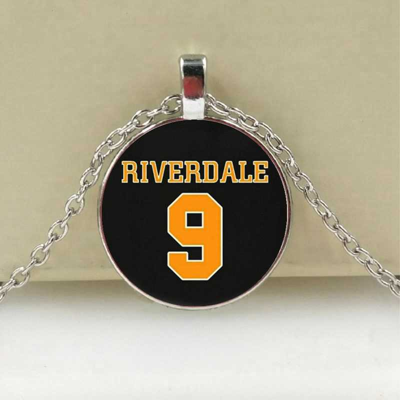 Arrival Riverdale Pendant Necklace Mysteries of Riverdale Jewelry Glass Dome Pendants Silver Handmade Necklaces