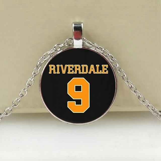 Chegada Colar de Pingente de Riverdale Mistérios de Riverdale Cúpula De Vidro Pingentes de Jóias Artesanais de Prata Colares