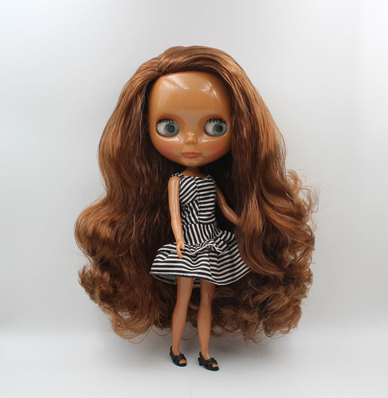 Free Shipping big discount RBL-467 DIY Nude Blyth doll birthday gift for girl 4colour big eye doll with beautiful Hair cute toy free shipping big discount rbl 331 diy nude blyth doll birthday gift for girl 4colour big eye doll with beautiful hair cute toy