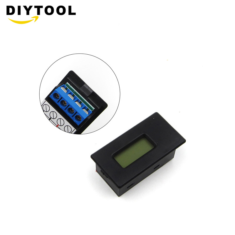 Li-ion Lithium Battery 18650 26650 Tester LCD Meter Voltage Current Capacity ASS