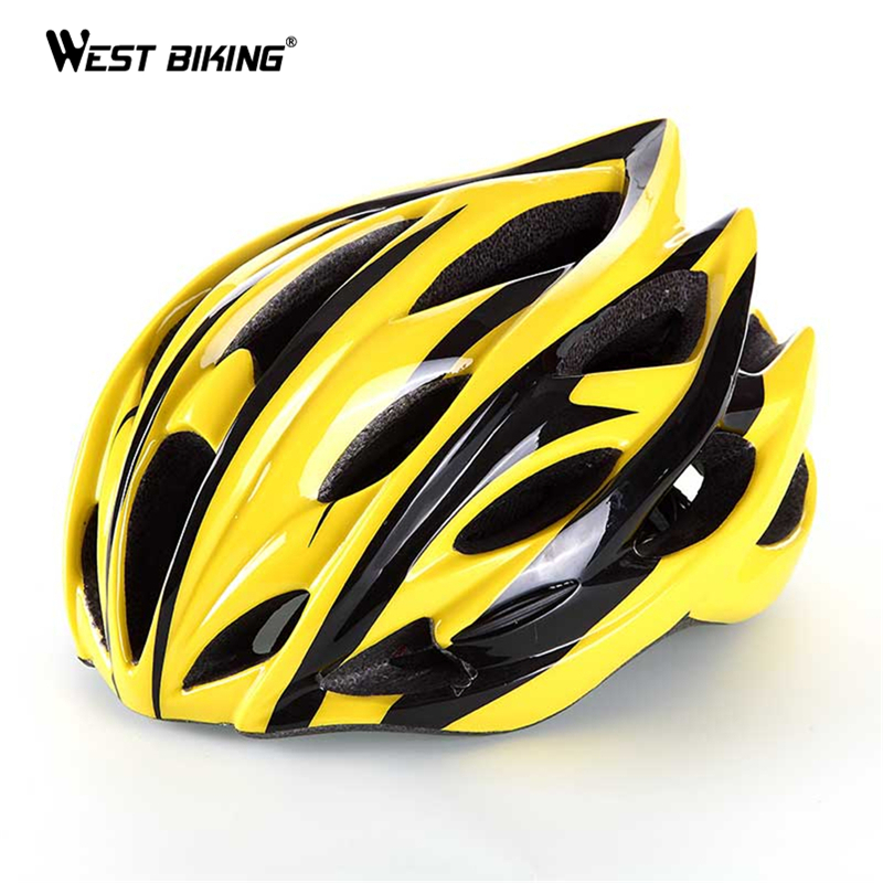 WEST BIKING Cycling Men's Women's Helmet EPS Ultralight Road MTB Mountain Bike Helmet Comfort Safety Cycling Bicycle Helmet men women cycling helmet eps ultralight mtb mountain bike helmet riding safety bicycle helmet