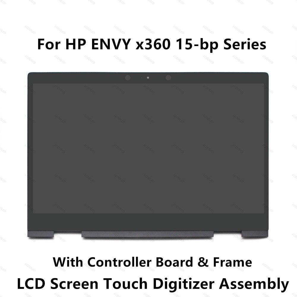 LCD Full Affichage Écran Tactile En Verre Digitizer Assemblée Pour HP ENVY x360 15-bp014tx 15-bp015tx 15-bp016tx 15-bp017tx 15-bp018ca