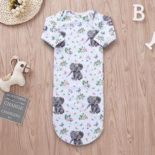 Одеяло для сна с цветочным рисунком для новорожденных девочек; одежда для пеленания; хлопчатобумажное одеяльце