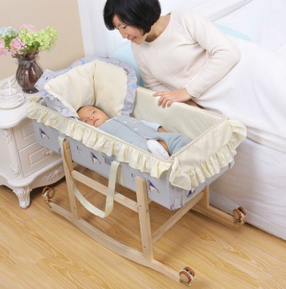 Baby shaker bed newborn cradle baby shopping basket car portable out of the crib bedBaby shaker bed newborn cradle baby shopping basket car portable out of the crib bed