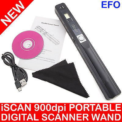 US $40 69 |iSCAN PORTABLE DIGITAL SCANNER 900 DPI MICROSD CARD JPEG PDF  SCAN OCR SOFTWARE-in Scanners from Computer & Office on Aliexpress com |
