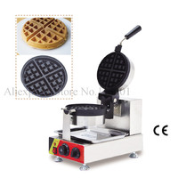 Rotatable waffle machine snack machine for yummy waffle making classical waffle baker electric heating