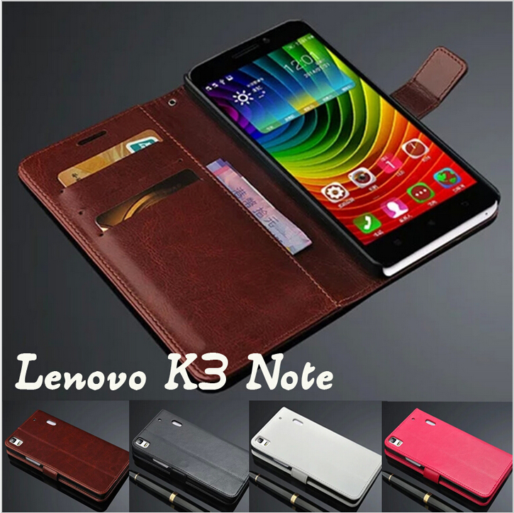 Genuine Leather Case For Lenovo K3 Note K50-T5 Leather Case Flip Cover for Lenovo K3 Note K50-T5 Case Business Wallet Style Case