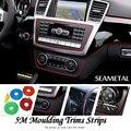 5 M/lote Car-Styling Universal Línea Fría Flexible Decoración Moldeo Recorta Tiras Styling Car Sticker Auto Accesorios