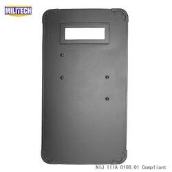 MILITECH 19.7'' x 35.4'' Or 50cm x 90cm Ultra Light Weight UHMWPE NIJ IIIA 3A Bullet Proof Shield Bulletproof Ballistic Shield