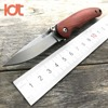 LDT Original Folding Knives Wood Handle D2 Blade Tactical Knife Camping Hunting Survival Knife Outdoor Military